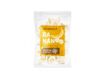 allnature banan suseny mrazem platky 20 g