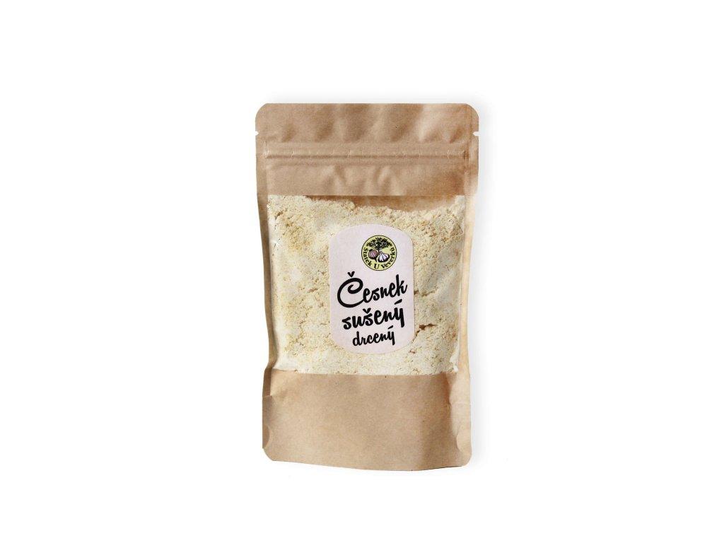česnek sušený drcený