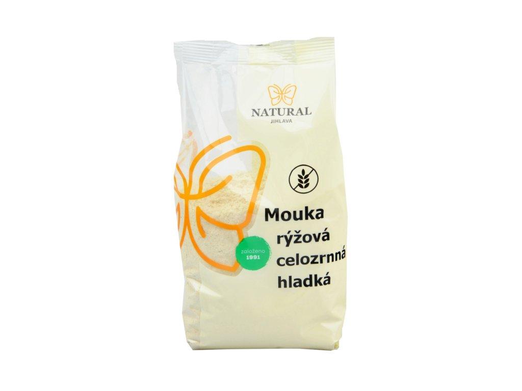 NATURAL Mouka rýžová celozrnná hladká 1kg