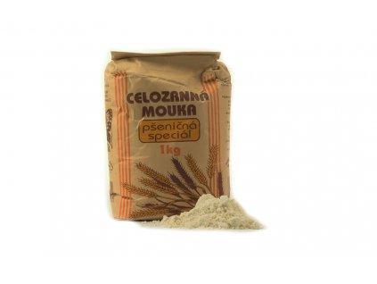 NATURAL Mouka celozrnná pšeničná speciál 1kg
