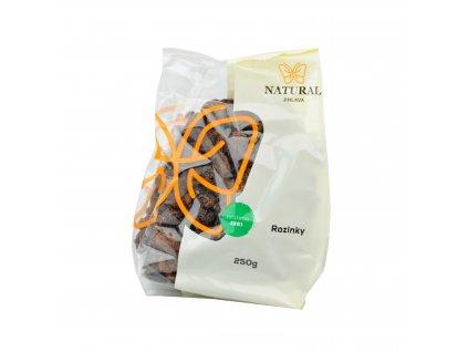 NATURAL Rozinky 250g