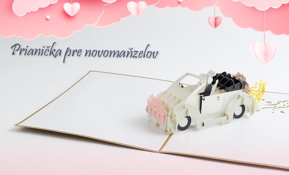 3D Prianičko pre novomanželov - 3D prianie Svadba