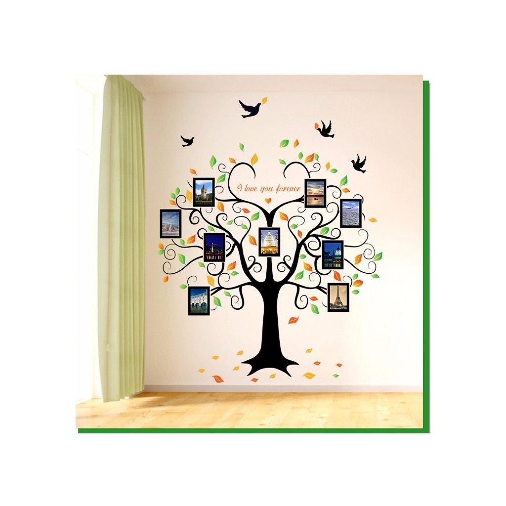 Samolepka Strom zamilovaných spomienok