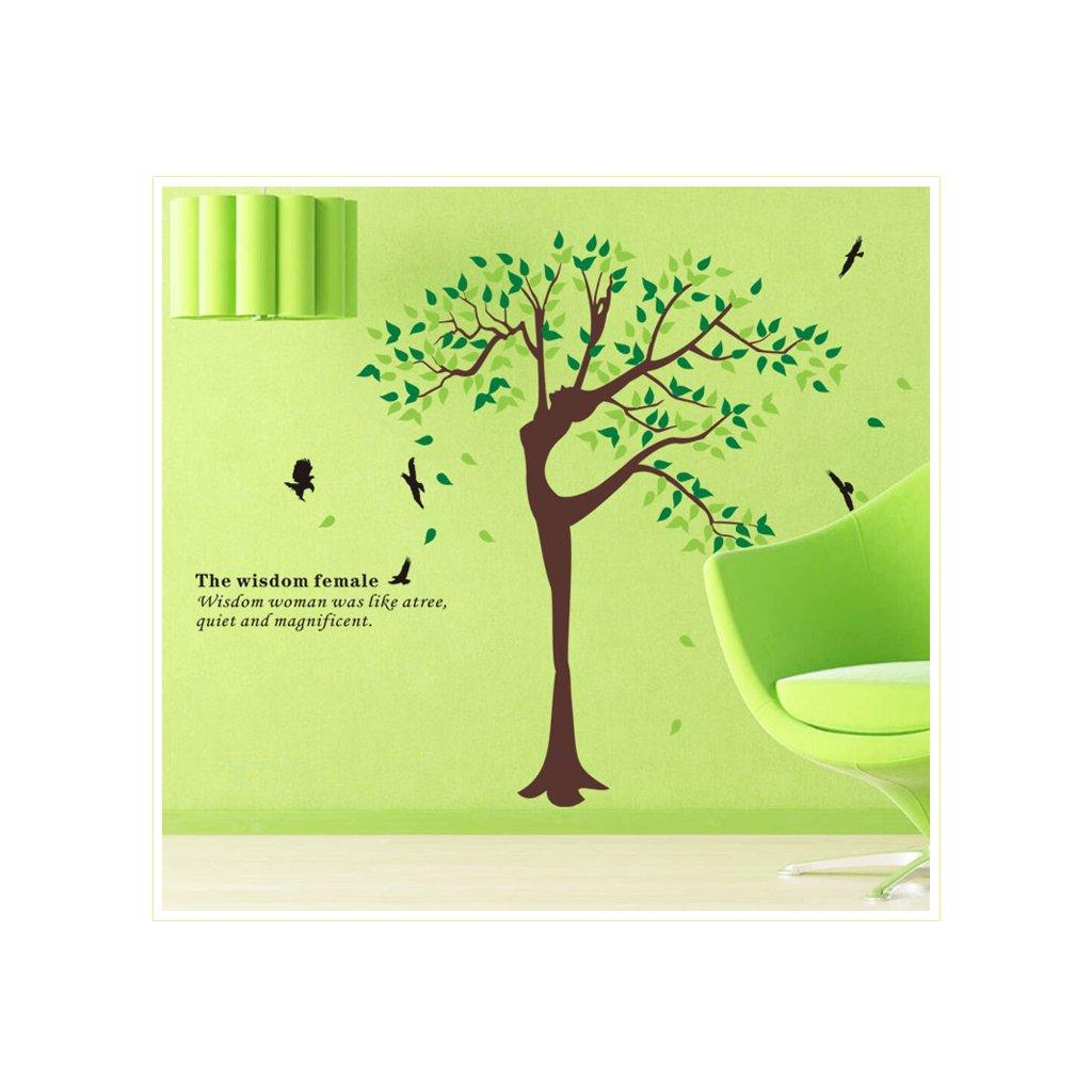 Samolepka Tancujúci strom