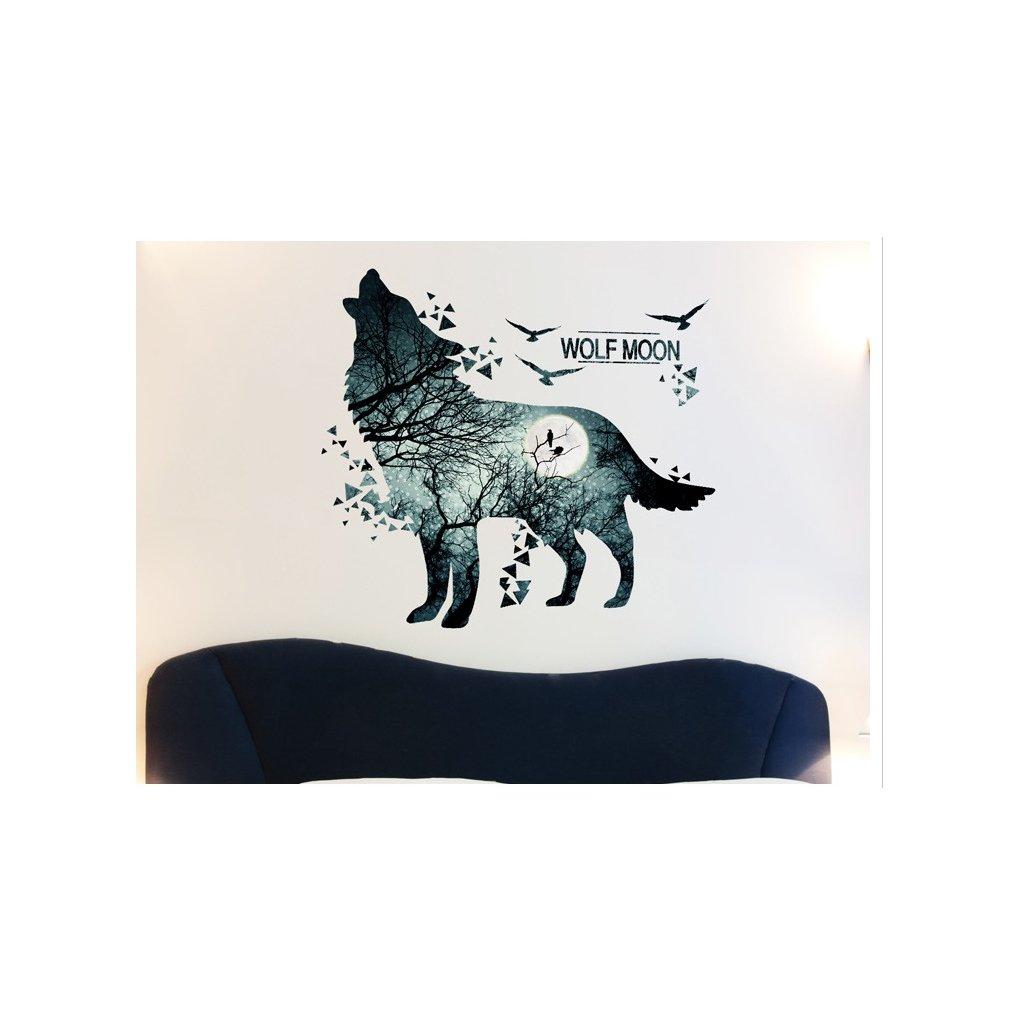 samolepka Vlk