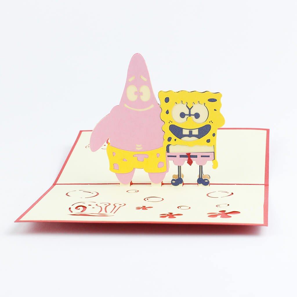 3D prianie Spongebob