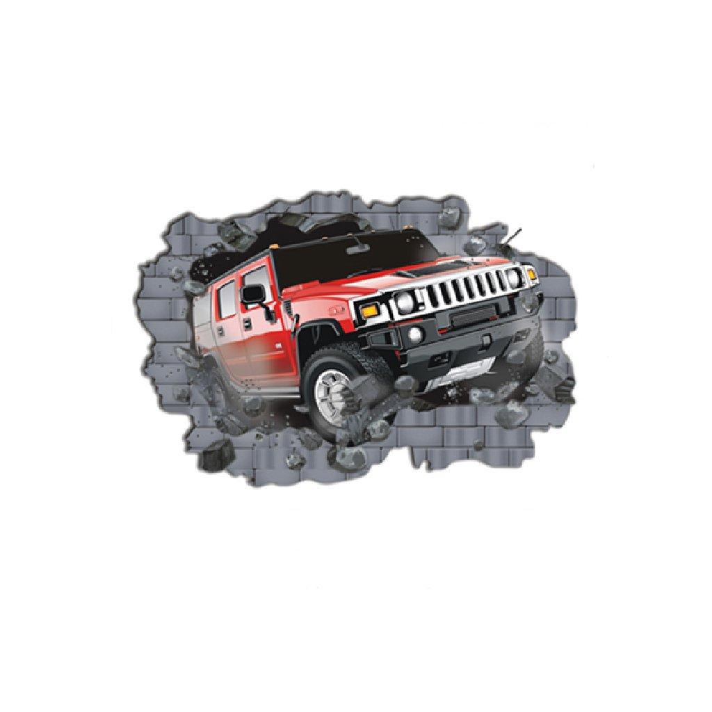 Samolepka na stenu Auto Hummer