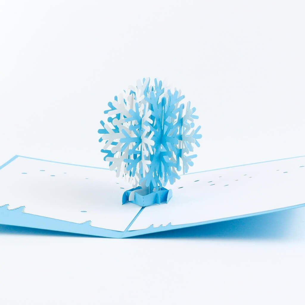 3D prianie Snehová vločka