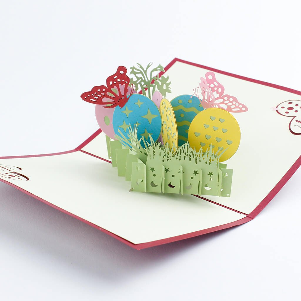 3D prianie Veľkonočné vajíčka