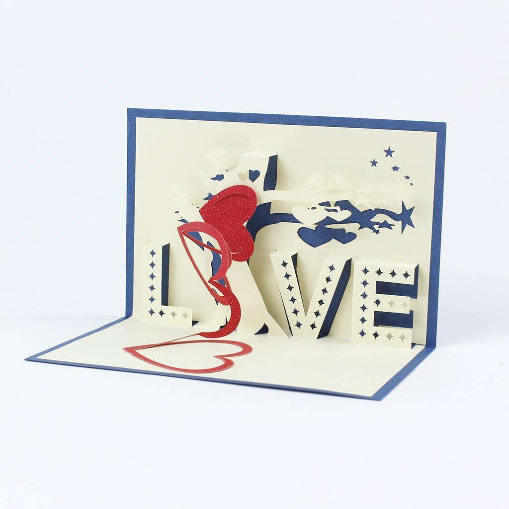 3D prianie Modrá láska