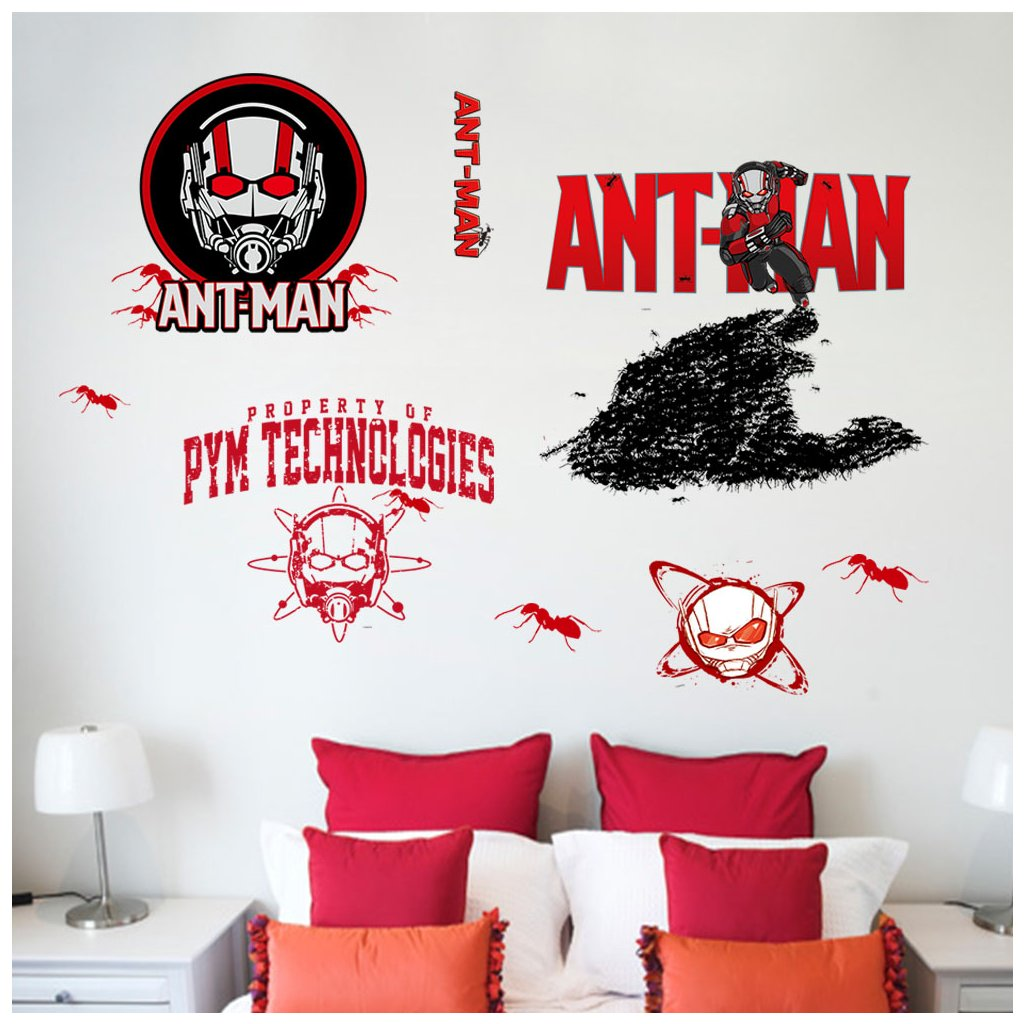 Samolepka na stenu Ant Man Avengers