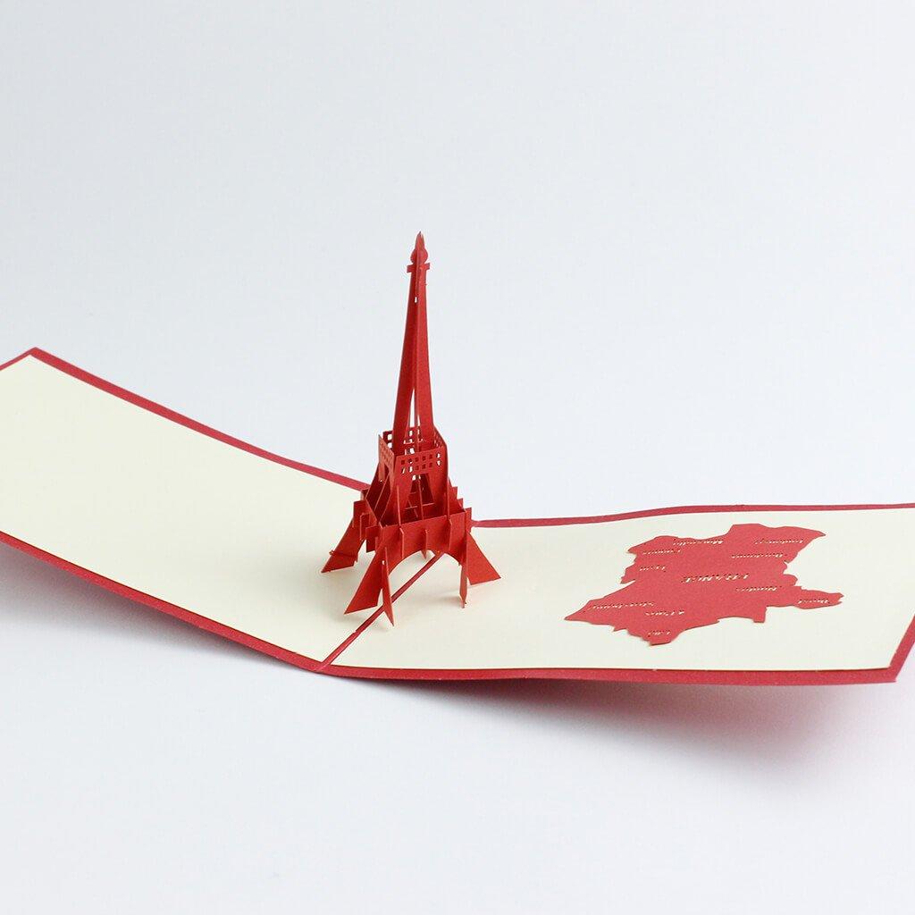 3D prianie Eiffelova veža