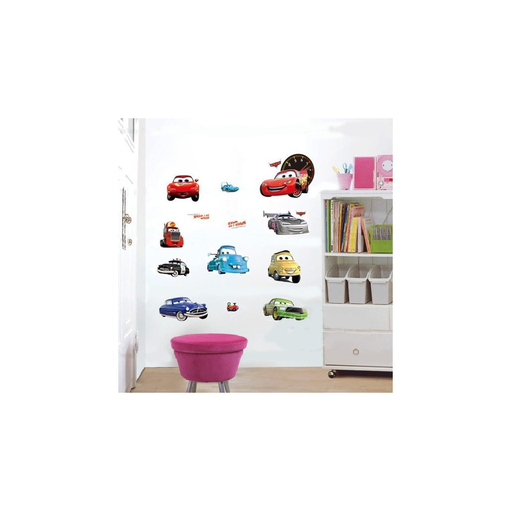 Samolepka Cars Autá