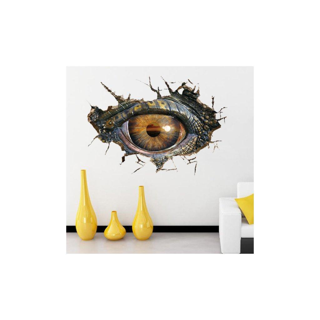 Samolepka Dinosaurie oko