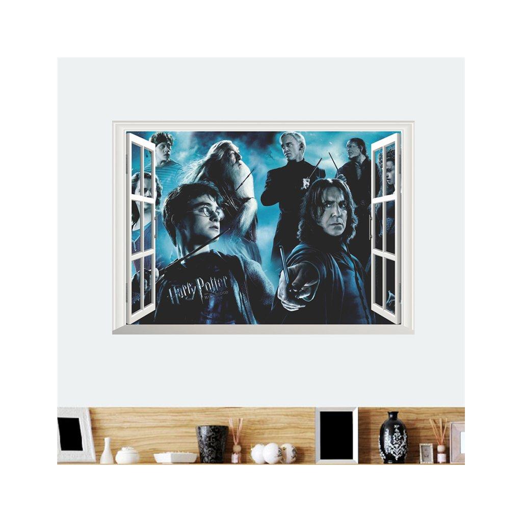 samolepka na stenu Harry Potter a čarodejníci