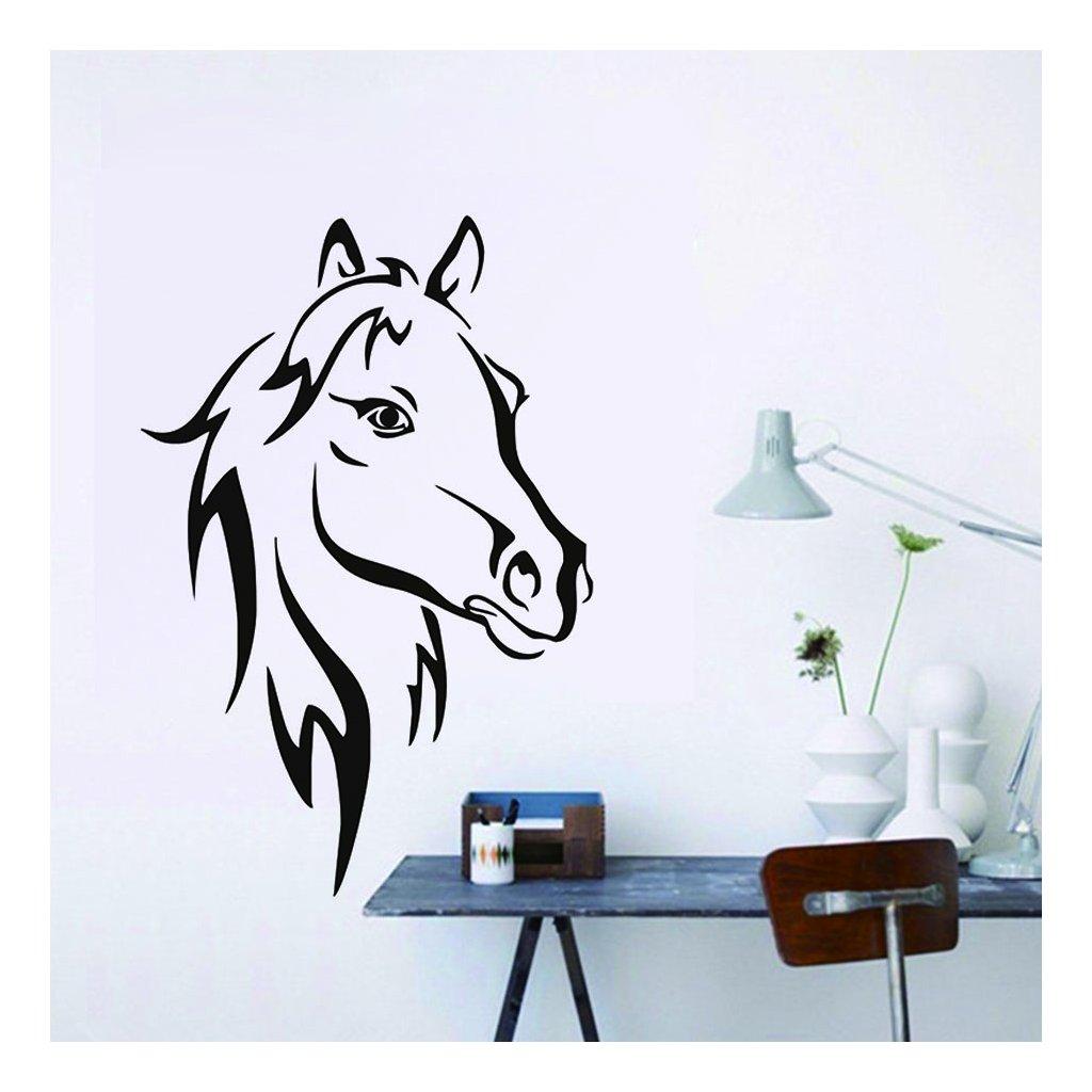 Samolepka na stenu Kôň
