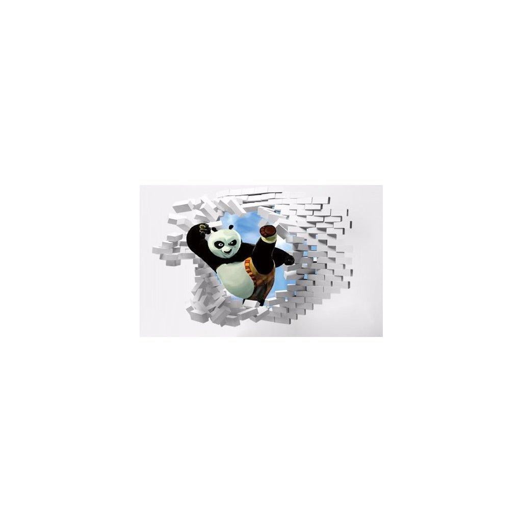 Samolepka na stenu Kung-Fu Panda