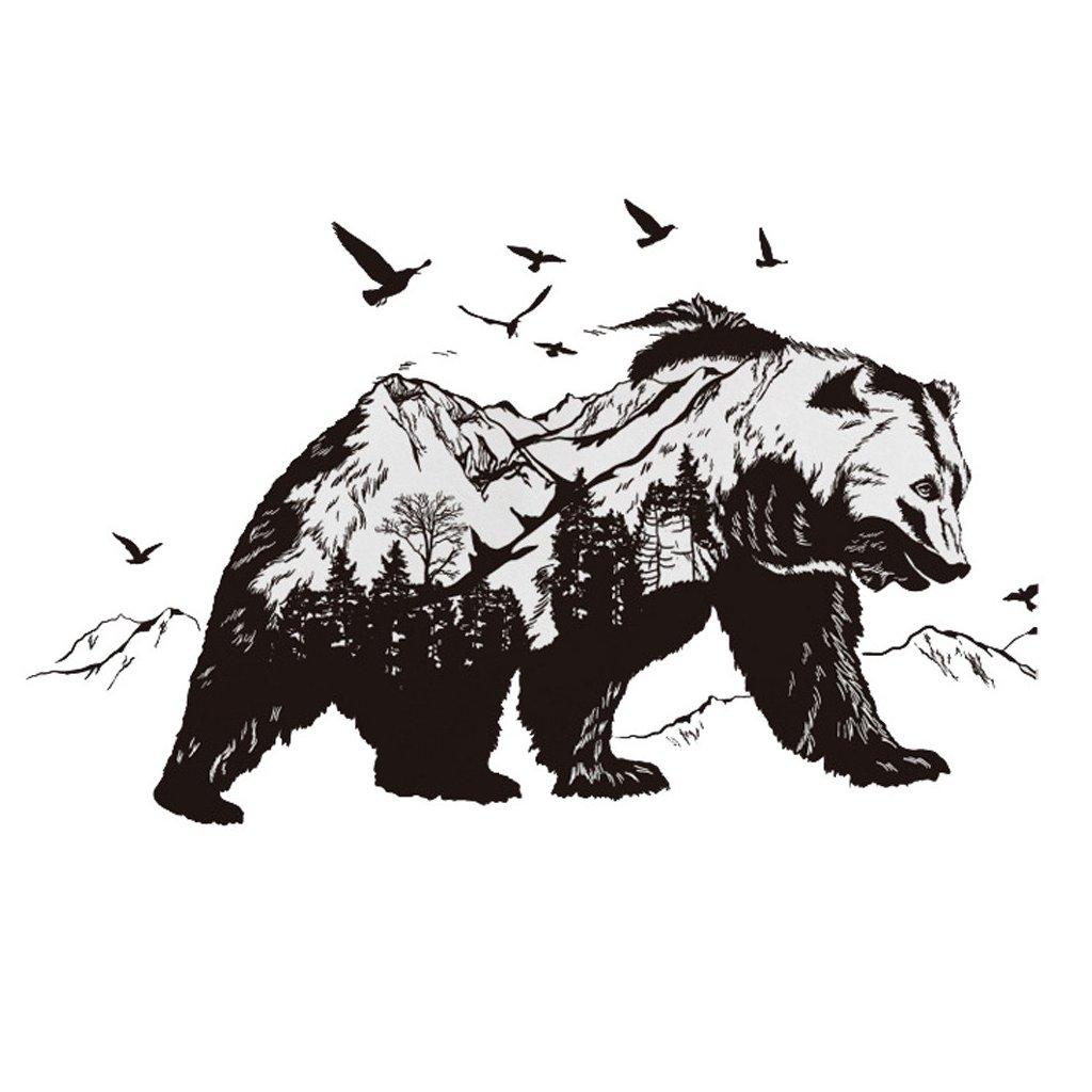samolepka na stenu Medveď