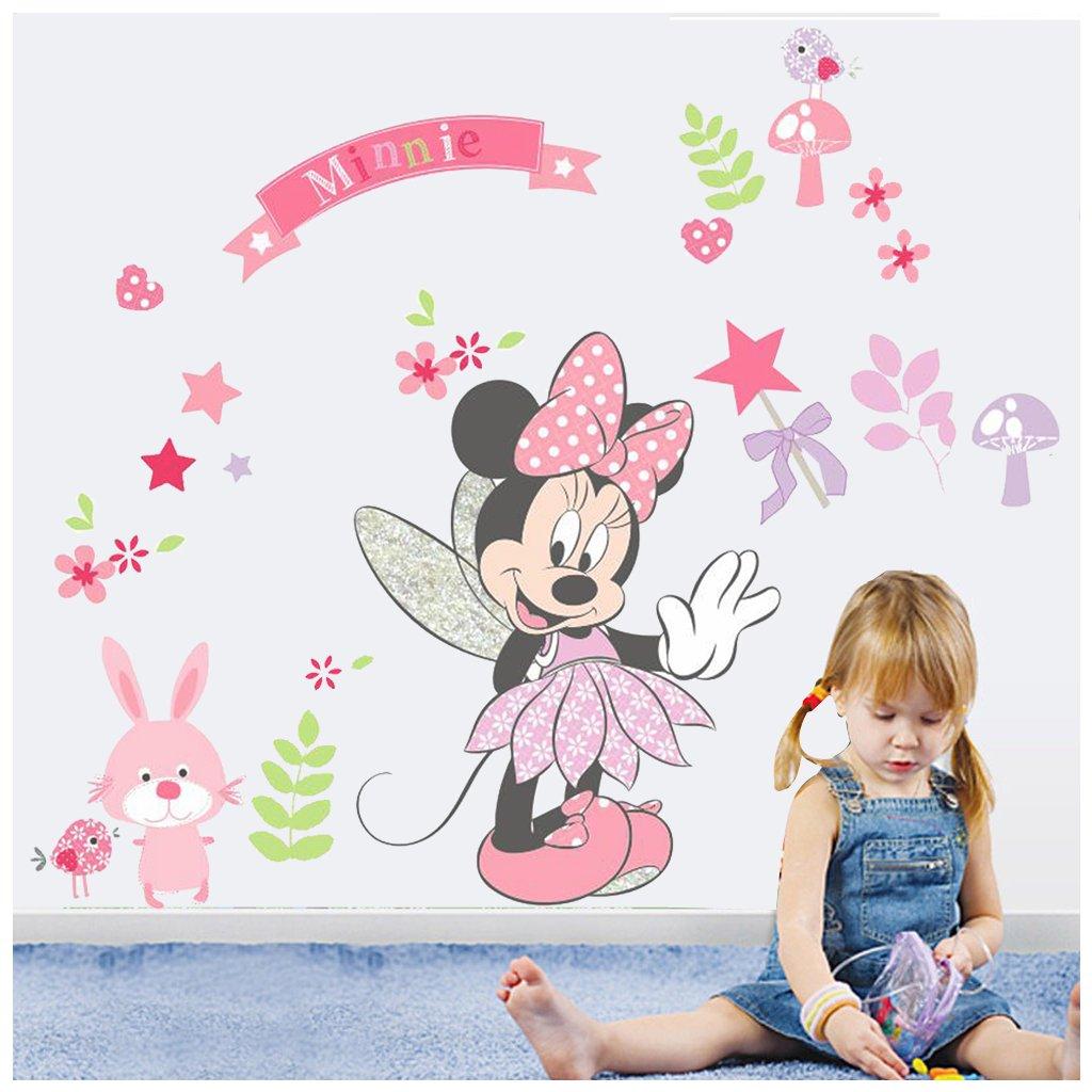 samolepka na stenu Minnie Mouse