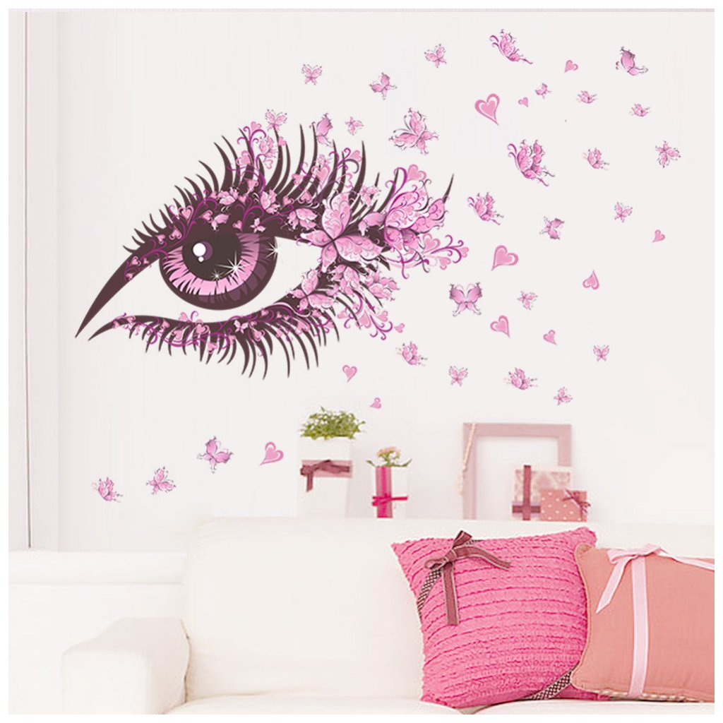 samolepka na stenu Motýlie oko