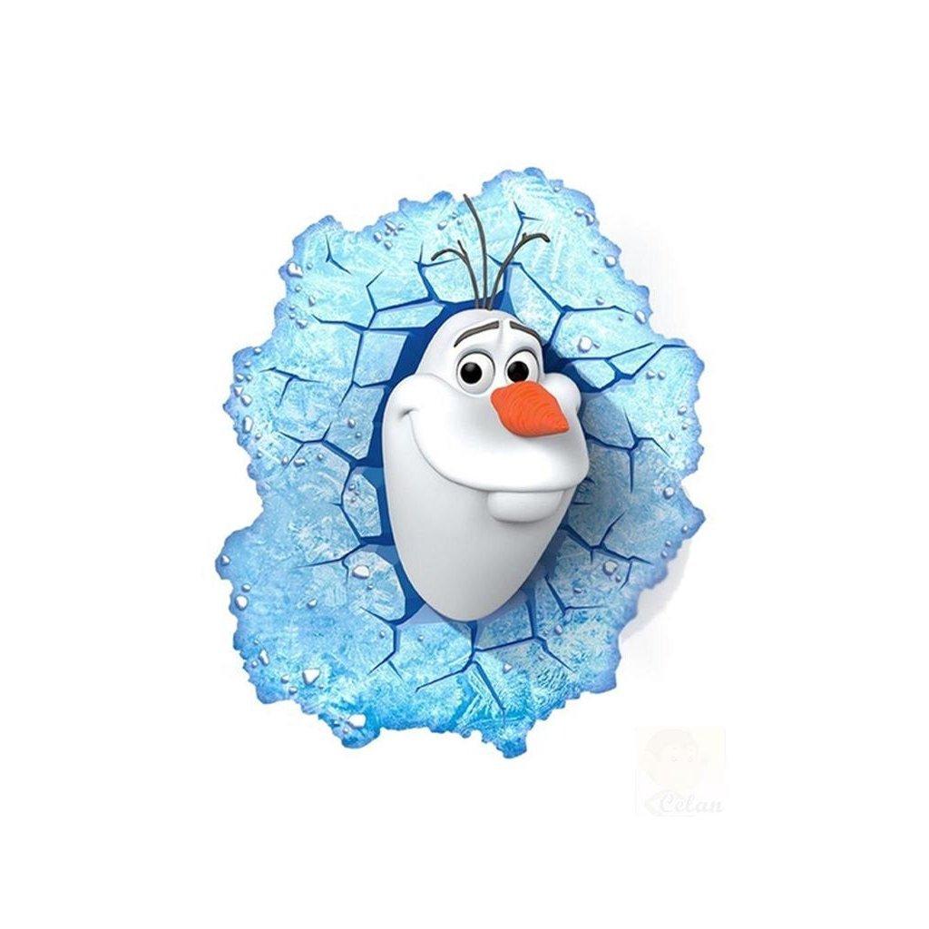 Samolepka Olaf Ľadové kráľovstvo
