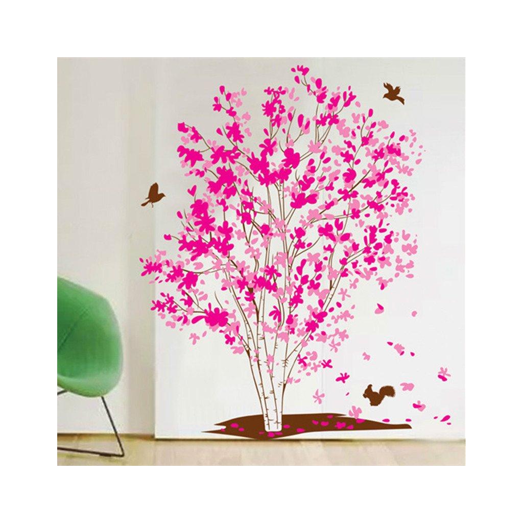 Samolepka Ružová breza