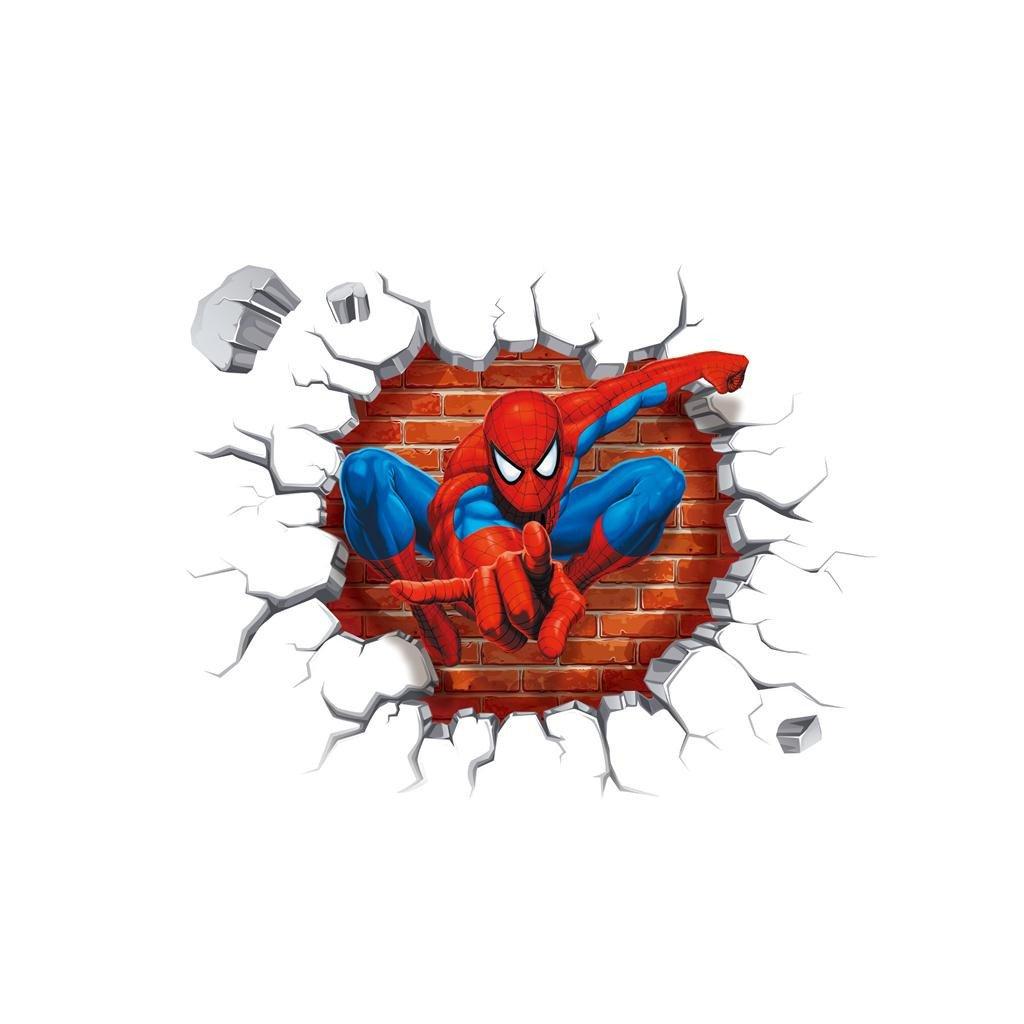 Samolepka Spiderman zo steny