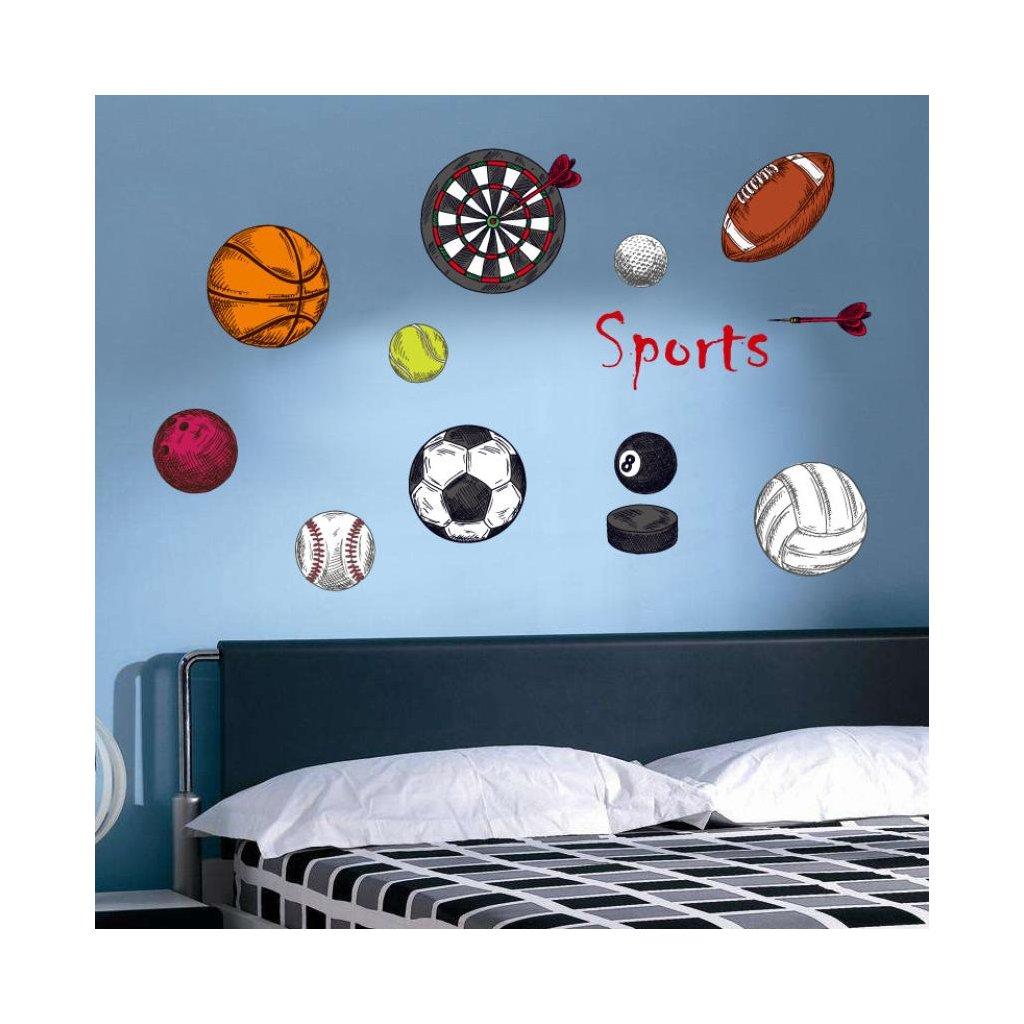 Samolepka Športové pomôcky