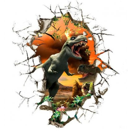 Samolepka Tyranosaure Jurský park