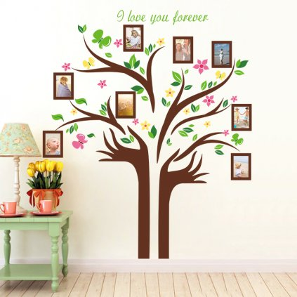 Samolepka Strom Nekonečnej lásky