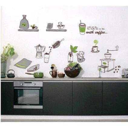Samolepka na stenu V kuchyni