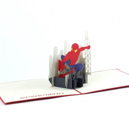 3D prianie Spiderman