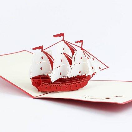 3D prianie Loď