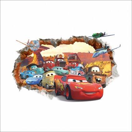 Samolepka Autá Cars