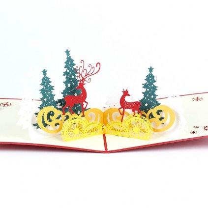3D prianie Vianočné zvieratka