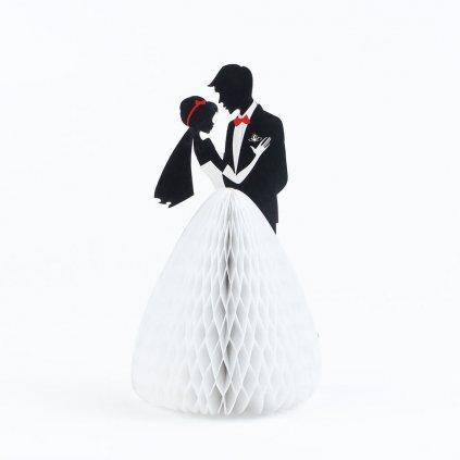 3D prianie Nevesta a ženích