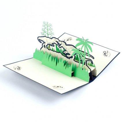 3D prianie Jurský park