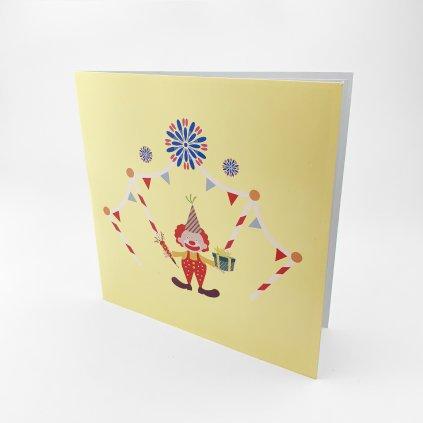 3D prianie Narodeninová torta s klaunom