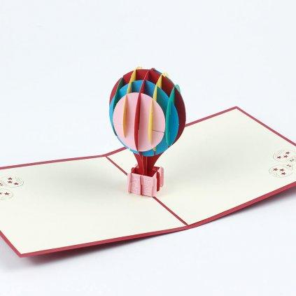 3D prianie Lietajúci balón