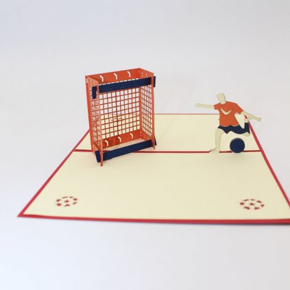 3D prianie Futbalista