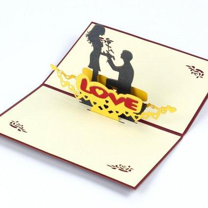 3D prianie Vyznanie lásky