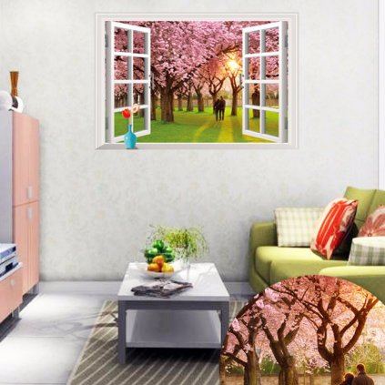 Samolepka na stenu Farby jari