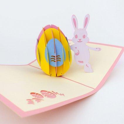 3D prianie Veľkonočný zajačik