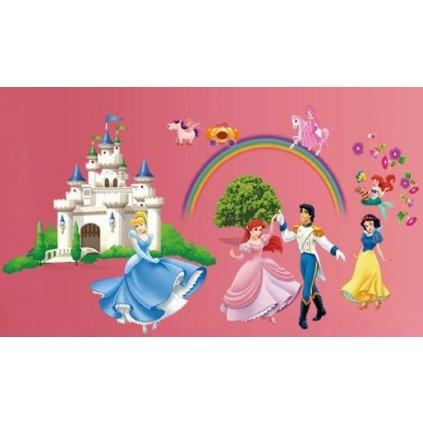 samolepka Disney Zámok