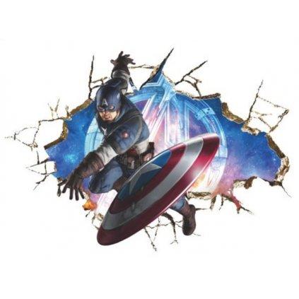 samolepka Kapitán Amerika Avengers