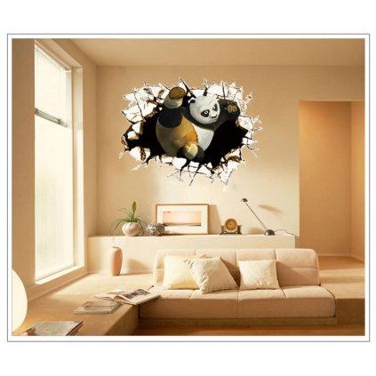 Samolepka Kung Fu Panda
