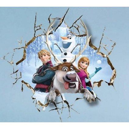samolepka Ľadové kráľovstvo Frozen