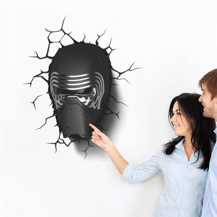 samolepka maska zo Star Wars