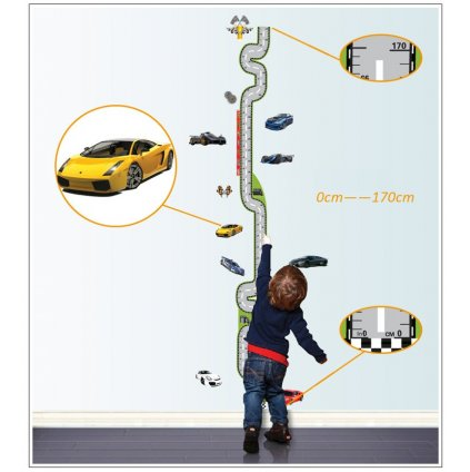 samolepka Meter Autá