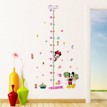 samolepka Minnie Mickey meter